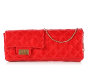 Chanel Ch.k1130.13 Leather Quilted Convertible Wristlet Clutch