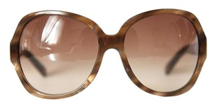 Chanel NEW Chanel 5141H Pearl Collection Oversize Brown Sunglasses