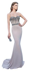Tarik Ediz Evening Gown 92625 Size 8 Dress