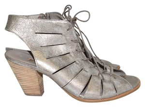 Paul Green Bootie Wedge SMOKE METTALIC Sandals