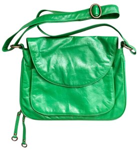 Latico Leather Messenger Like New green Messenger Bag