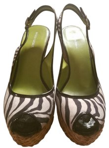 Banana Republic Zebra print Wedges