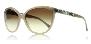 Chanel NEW Chanel 5309-B Bijoux Beige Cat Eye Swarovski Crystal Sunglasses