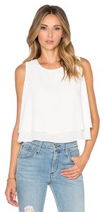 Bishop + Young Bishop+young Double Layer Tank Tank Top White
