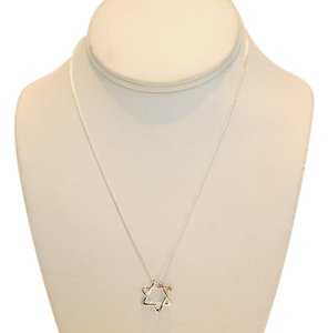 Tiffany & Co. 925 Silver Star of David necklace