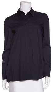 The Row Button Down Shirt Navy
