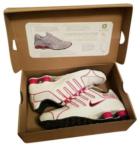Nike White and pink Athletic