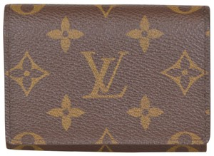 Louis Vuitton Monogram Enveloppe Cartes De Visite Card Case M62920