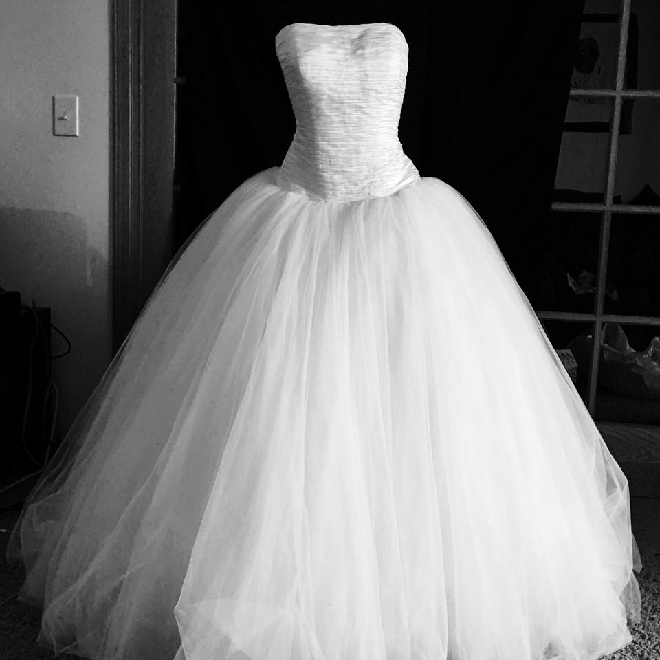 Oleg cassini oleg cassini designer ball gown wedding dress for Wedding dress designer oleg cassini