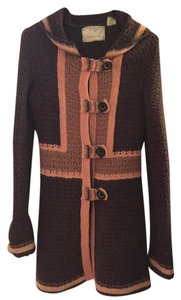 Anthropologie Coat Knitted Casual Sweater