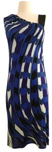Emilio Pucci short dress Blue Multi on Tradesy