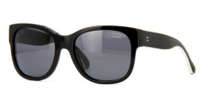 Chanel NEW Chanel 5270 Black Oversized Polarized Silver Sunglasses