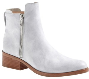 3.1 Phillip Lim Alexa Zipper Ankleboot Leather White Boots