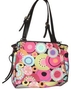 Added To Ping Bag Talbots Tote In Multicolor