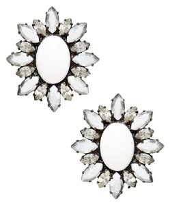 DANNIJO Dannijo Jude Crystal Stud Earrings