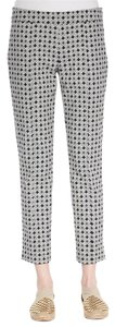 Tory Burch Skinny Pants Black print