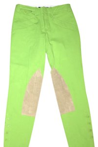 Ralph Lauren Skinny Pants Lime