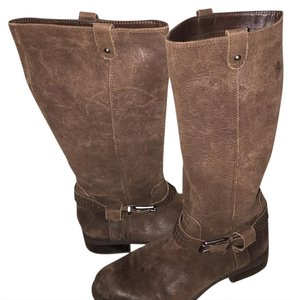 Jessica Simpson black,brown and tan Boots