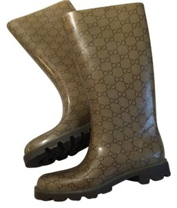 Gucci light brown Gucci Gs Boots