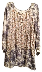 Free People short dress Floral Multi Floral on Tradesy