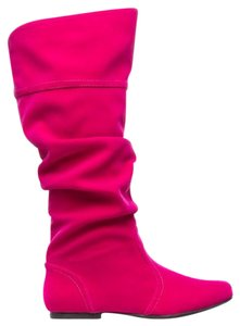 ShoeDazzle hot pink Boots