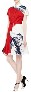 Prabal Gurung Painterly Colorblock Artistic Dress