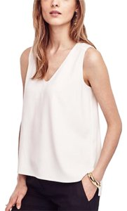 Ann Taylor Top Ivory White