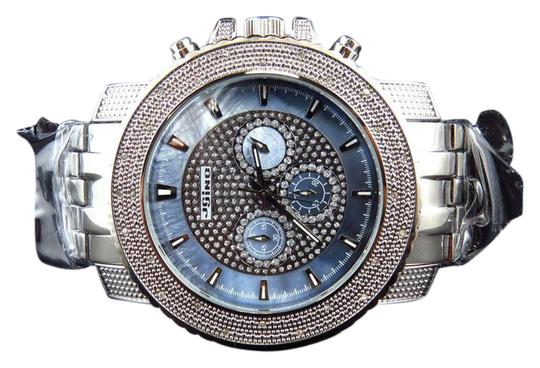 Preload https://img-static.tradesy.com/item/20727098/jojino-stainless-steel-aqua-blue-mens-jojinojoe-rodeojojo-xl-51mm-real-25-diamond-mj-1209-watch-0-5-540-540.jpg