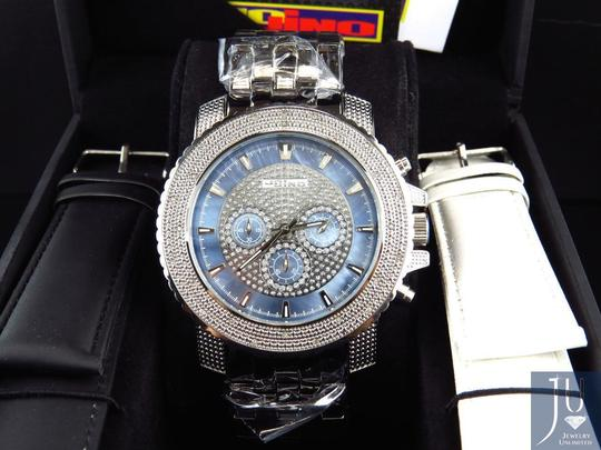 JoJino Mens Jojino/Joe Rodeo/Jojo XL 51mm Real 25 Diamond Watch MJ-1209