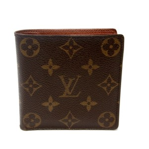 Louis Vuitton Louis Vuitton Signature Monogram LV Bi Fold Mens Wallet Coin