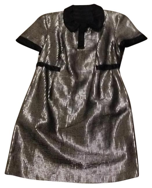 Preload https://img-static.tradesy.com/item/20727319/adampluseve-black-and-silver-none-short-casual-dress-size-10-m-0-1-650-650.jpg