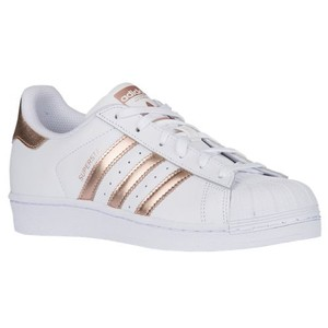 adidas White/Metallic Copper Athletic