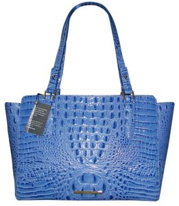 Brahmin West Lake Tote in Daydream Blue