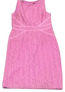 David Meister short dress pink/lilac on Tradesy