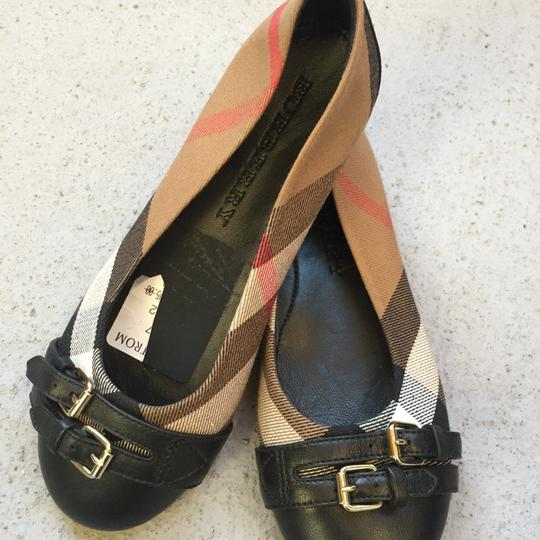 Burberry black/brown Flats