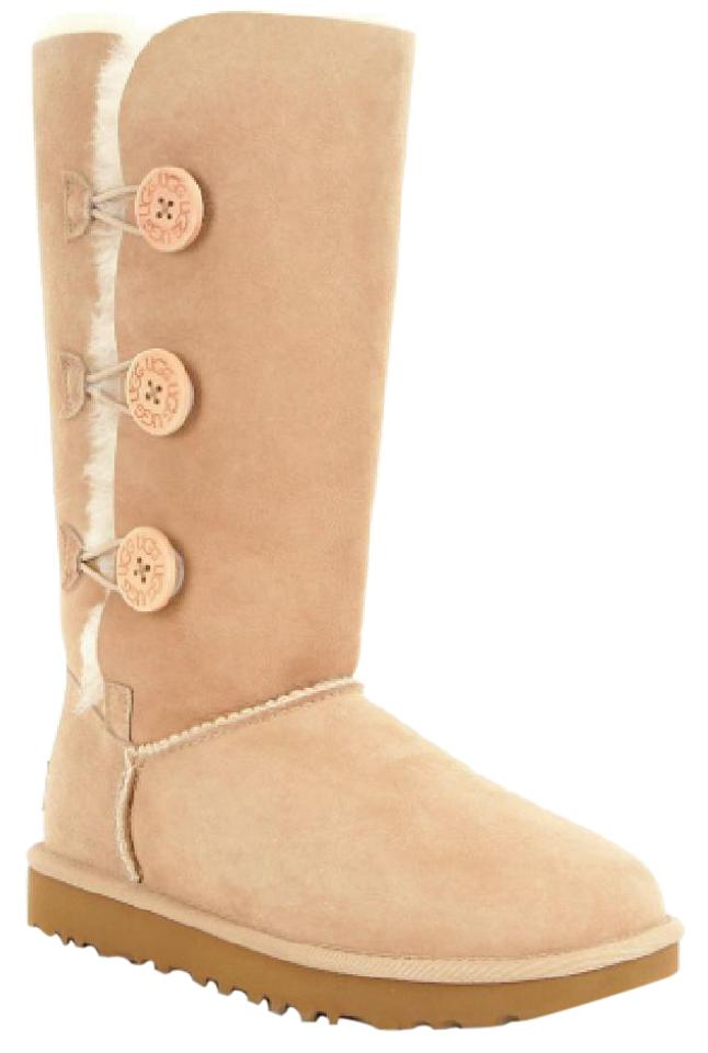 e890b184499 UGG Australia Sand Bailey Button Triplet Ii Boots/Booties Size US 5 Regular  (M, B) 21% off retail