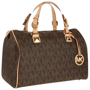Michael Kors Satchel in Monogram