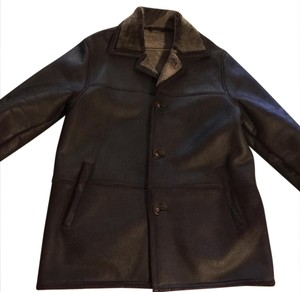 Talbots Brown Leather Jacket