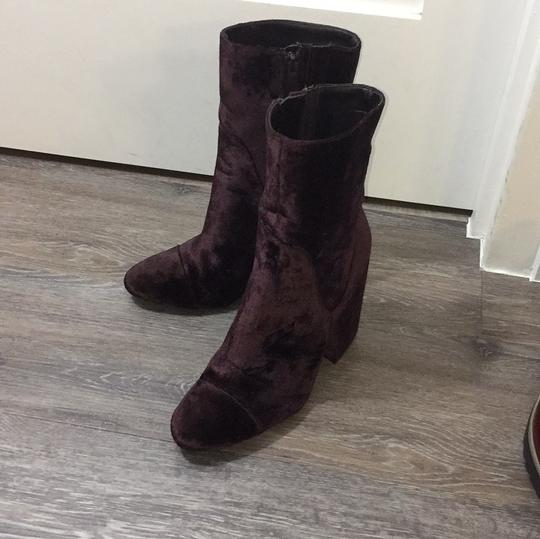 Kendall + Kylie Burgundy Boots
