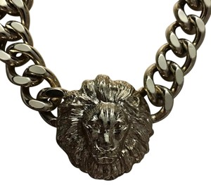 Melody Ehsani gold lion necklace