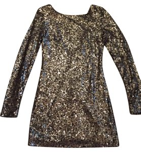 Guess By Marciano Sequin Clubwear Formal Class Cocktail Dress