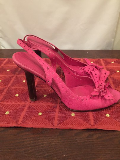 Céline Classic Style Timeless Fashion Pink Sandals