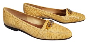 Rangoni Brown Tan Yellow Flats