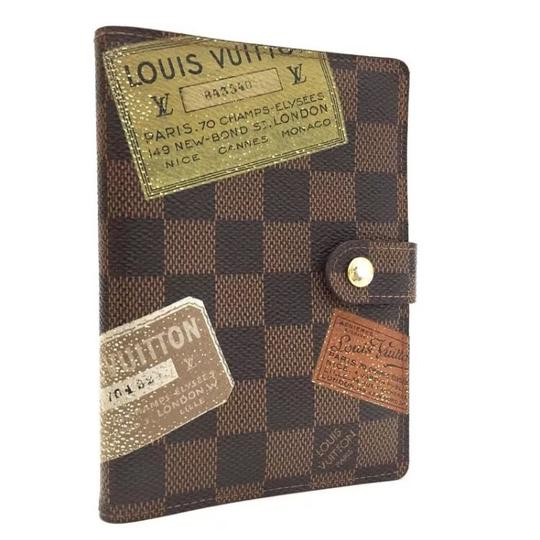 Preload https://img-static.tradesy.com/item/20728123/louis-vuitton-brown-damier-label-agenda-pm-notebook-cover-wallet-0-0-540-540.jpg
