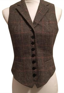 Ralph Lauren Unique Equestrian Wool Vest