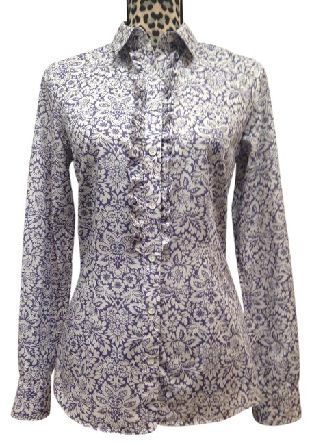 Preload https://img-static.tradesy.com/item/20728134/brooks-brothers-violet-ruffle-button-down-blouse-size-6-s-0-1-650-650.jpg