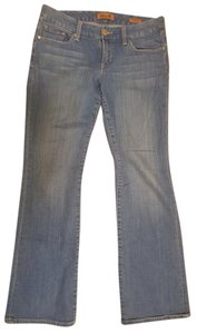 Seven7 Boot Cut Jeans-Light Wash