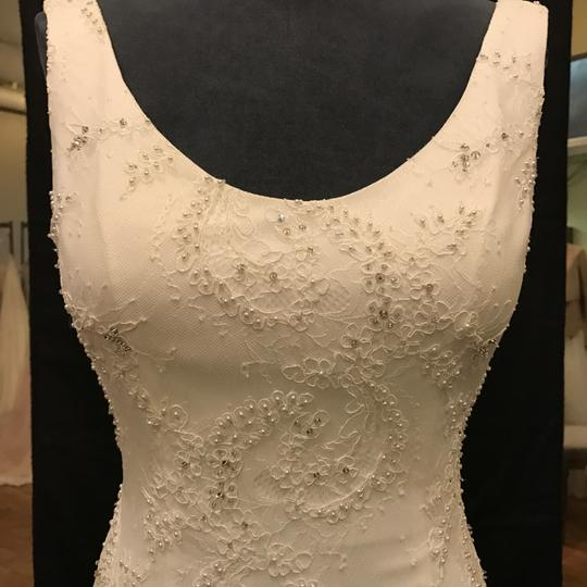 Robert Bullock Bride Ivory Lace with Reeve Traditional Wedding Dress Size 8 (M)
