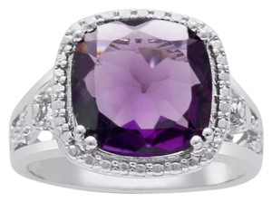 Other ** NWT ** HALO STYLE ( 5.00 CT ) AMETHYST RING