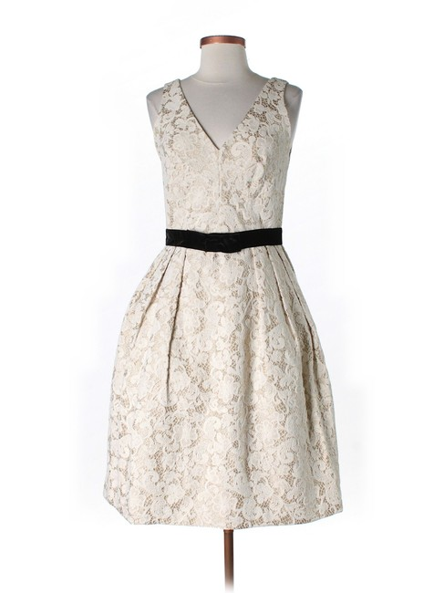 Anthropologie Lace V-neck Dress